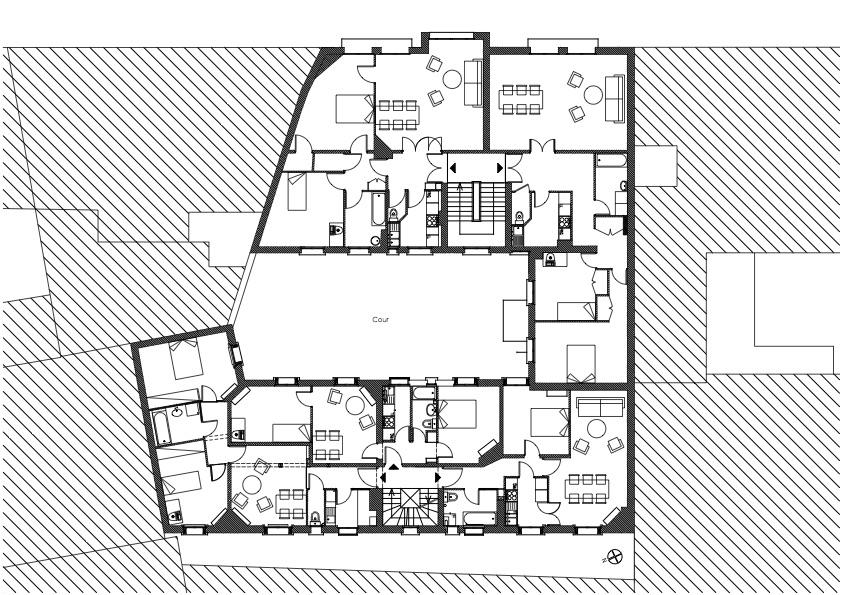 02 Damrémont plan étage courant - copie