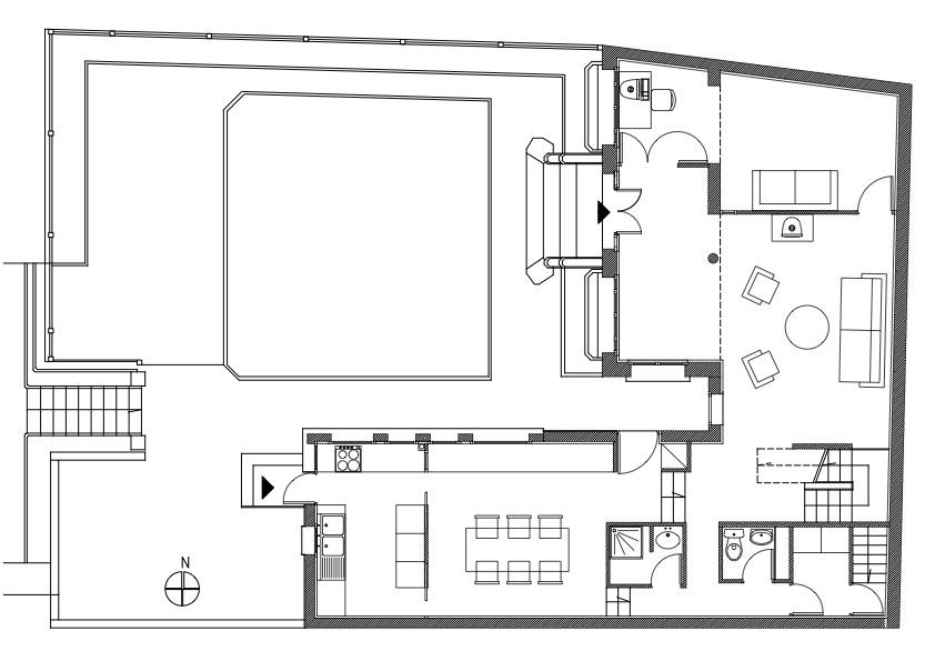 01 Maison Suresne plan RDC - copie